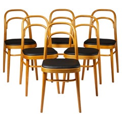 Set of Six Dining Chairs, Anonymous