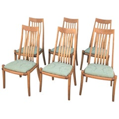 Set of Six Dining Chairs by Anthony Kahn
