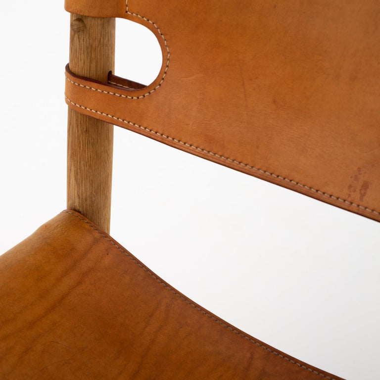 Set of Six Dining Chairs by Børge Mogensen In Fair Condition For Sale In Copenhagen, DK