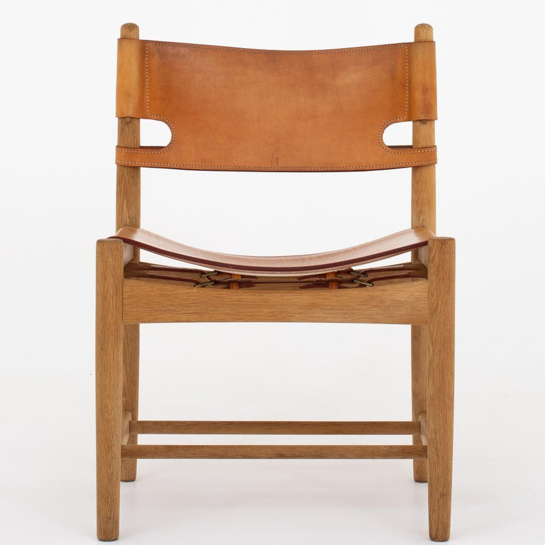 Set of Six Dining Chairs by Børge Mogensen For Sale 3