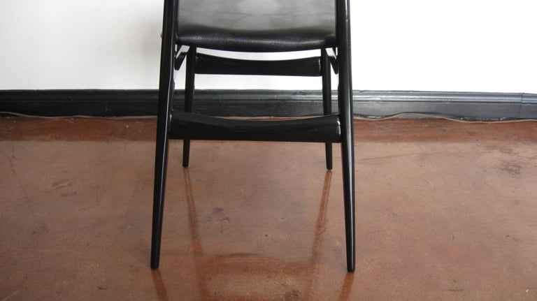 Set of Six Dining Chairs by Carlo Di Carli and Gio Ponti For Sale 4