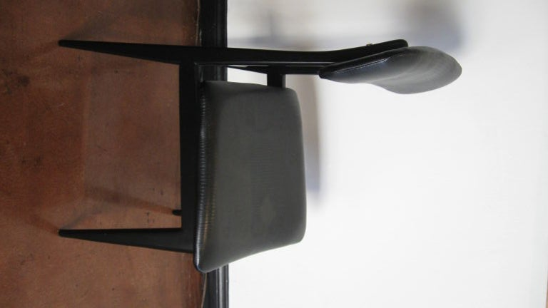 Set of Six Dining Chairs by Carlo Di Carli and Gio Ponti For Sale 2
