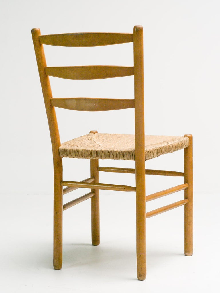 Set of Six Dining Chairs by Cees Braakman In Good Condition For Sale In Dronten, NL