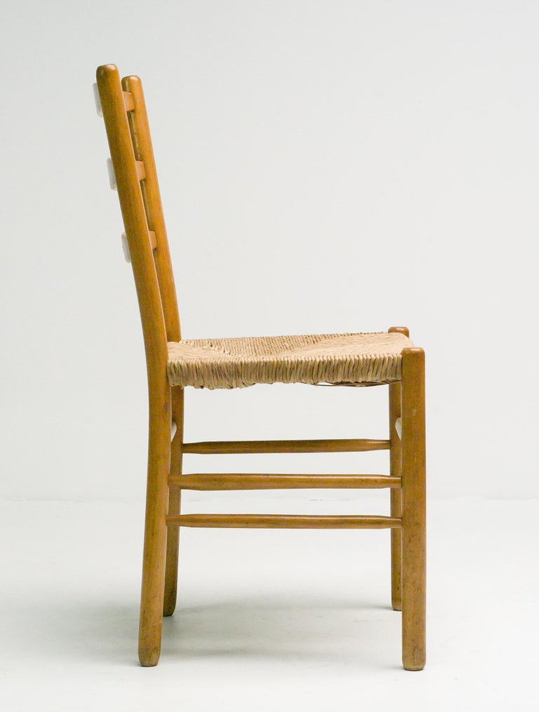Set of Six Dining Chairs by Cees Braakman For Sale 1