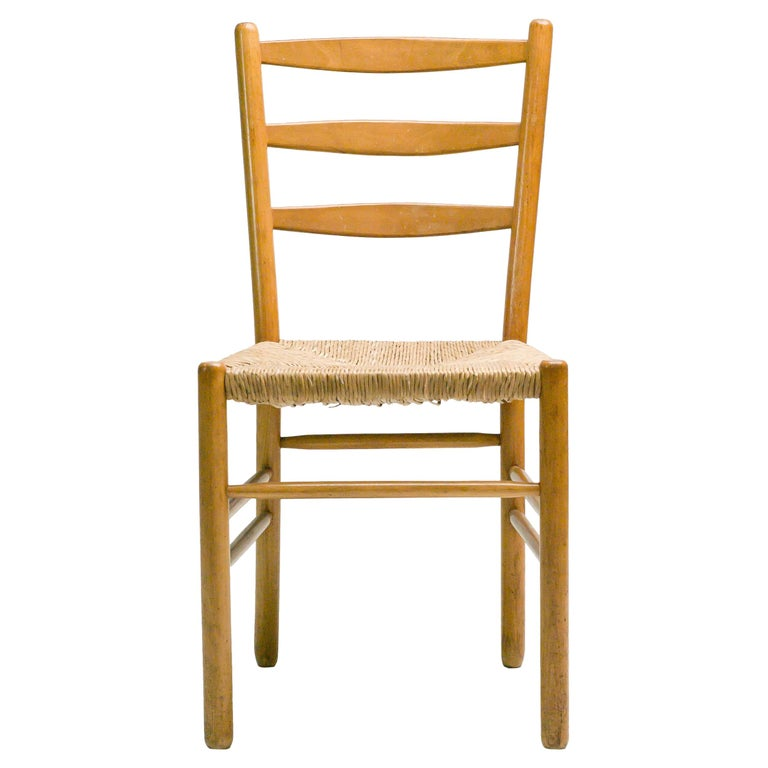 Set of Six Dining Chairs by Cees Braakman For Sale