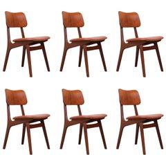 Set of Six Dining Chairs by Ib Kofod-Larsen for Christensen & Larsen