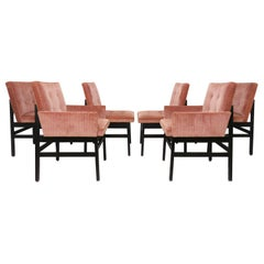 Set of Six Dining Chairs by Paul Evans for Directional Ca. 1970s