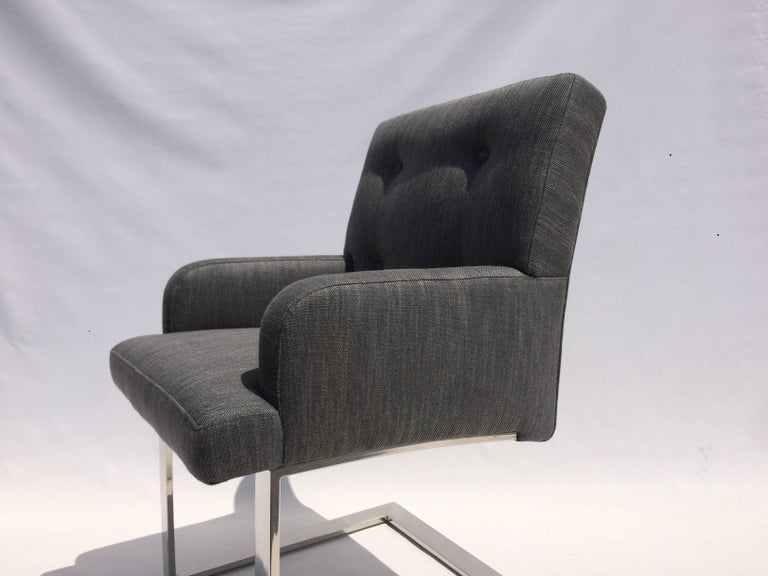 Set of Six Dining Chairs by Paul Evans for Directional For Sale 4
