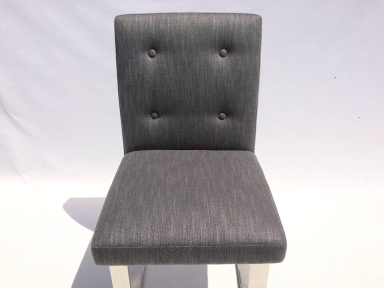 Set of Six Dining Chairs by Paul Evans for Directional For Sale 7