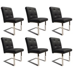 Set of Six Dining Chairs by Paul Evans for Directional