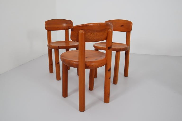 Set of Six Dining Chairs by Rainer Daumiller for Hirtshals Sawmill, Denmark For Sale 4