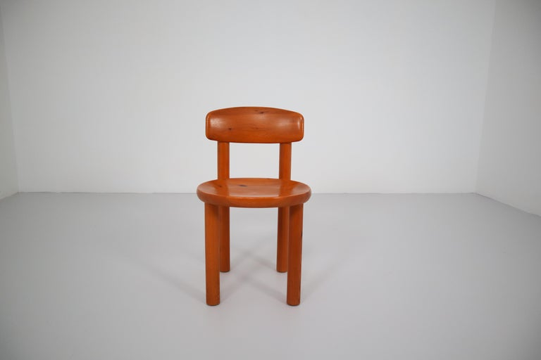 Scandinavian Modern Set of Six Dining Chairs by Rainer Daumiller for Hirtshals Sawmill, Denmark For Sale