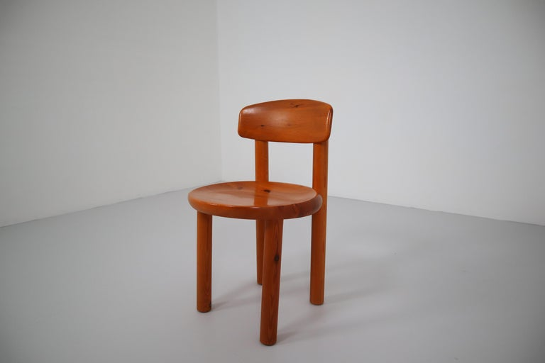 Danish Set of Six Dining Chairs by Rainer Daumiller for Hirtshals Sawmill, Denmark For Sale