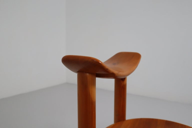 20th Century Set of Six Dining Chairs by Rainer Daumiller for Hirtshals Sawmill, Denmark For Sale