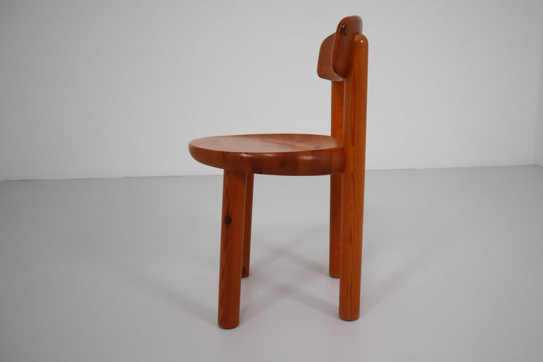 Pine Set of Six Dining Chairs by Rainer Daumiller for Hirtshals Sawmill, Denmark For Sale