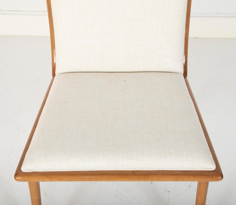 Set of Six Dining Chairs by T.H Robsjohn-Gibbings For Sale 4