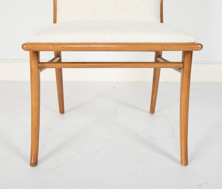 Set of Six Dining Chairs by T.H Robsjohn-Gibbings For Sale 6