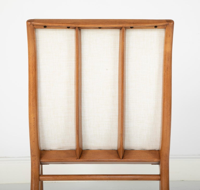 Set of Six Dining Chairs by T.H Robsjohn-Gibbings For Sale 12