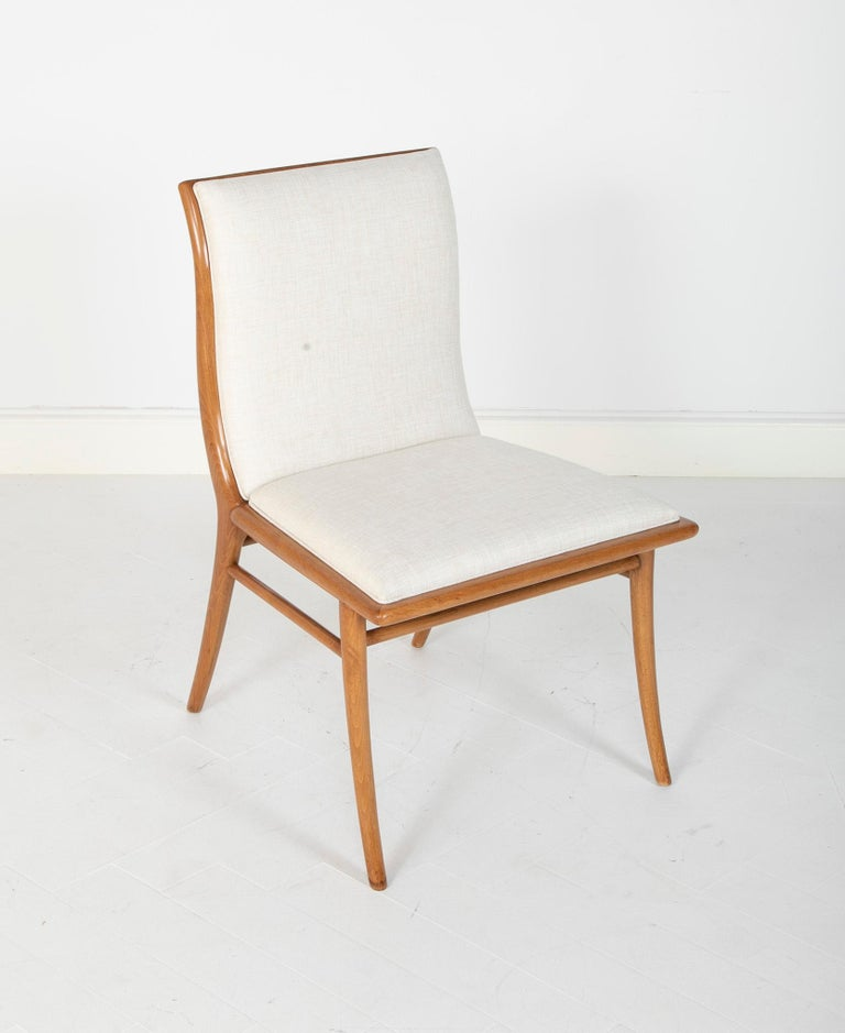 Set of Six Dining Chairs by T.H Robsjohn-Gibbings In Good Condition For Sale In Stamford, CT