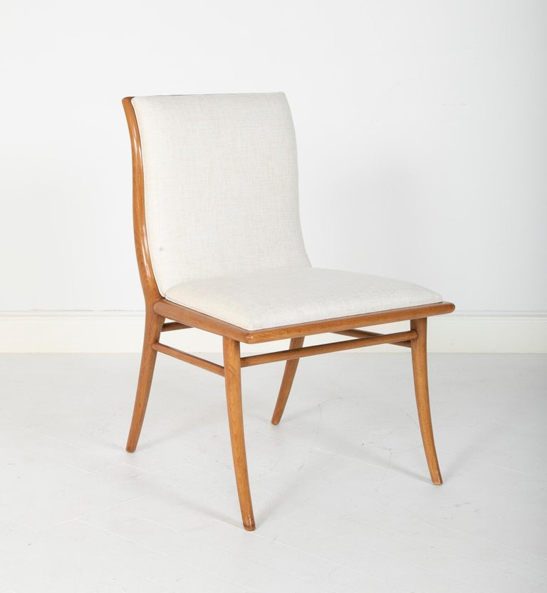 20th Century Set of Six Dining Chairs by T.H Robsjohn-Gibbings For Sale