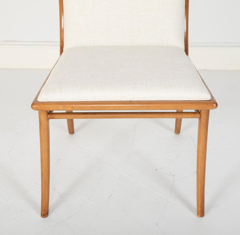 Set of Six Dining Chairs by T.H Robsjohn-Gibbings For Sale 2