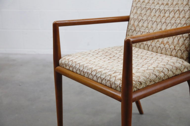 Set of Six Dining Chairs by T.H. Robsjohn-Gibbings for Widdicomb, 1950s For Sale 3