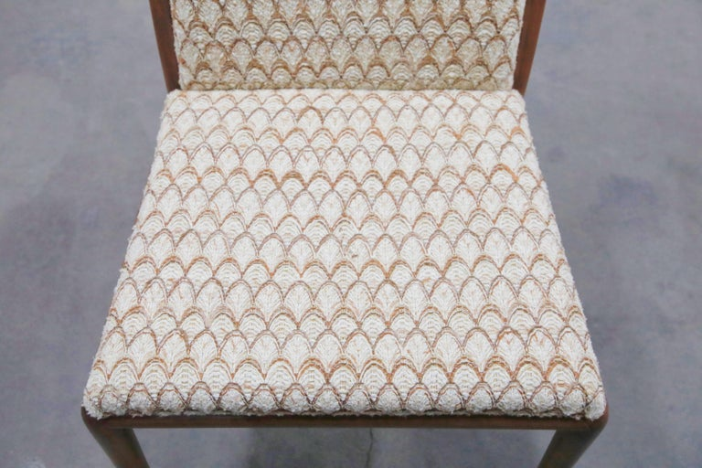 Set of Six Dining Chairs by T.H. Robsjohn-Gibbings for Widdicomb, 1950s For Sale 7