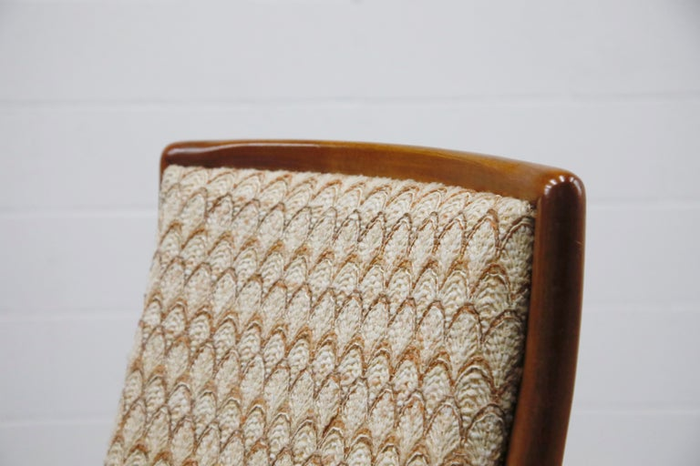 Set of Six Dining Chairs by T.H. Robsjohn-Gibbings for Widdicomb, 1950s For Sale 8