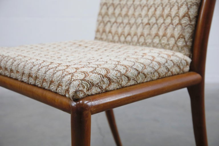 Set of Six Dining Chairs by T.H. Robsjohn-Gibbings for Widdicomb, 1950s For Sale 9
