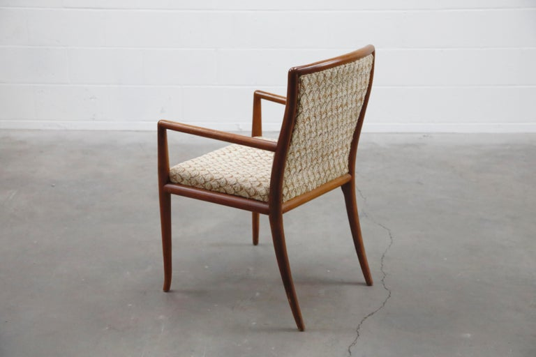 Set of Six Dining Chairs by T.H. Robsjohn-Gibbings for Widdicomb, 1950s In Good Condition For Sale In Los Angeles, CA