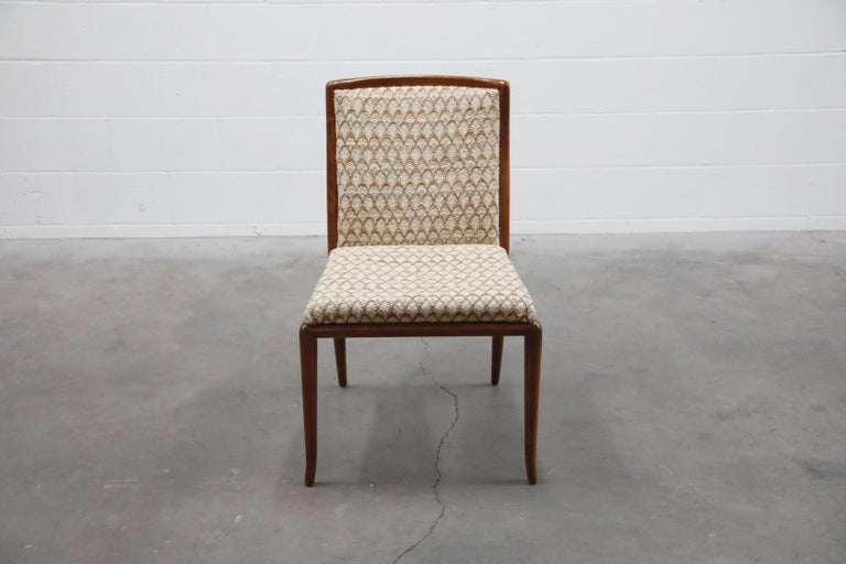 Mid-20th Century Set of Six Dining Chairs by T.H. Robsjohn-Gibbings for Widdicomb, 1950s For Sale