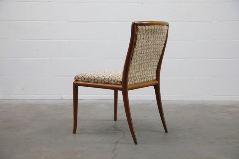 Set of Six Dining Chairs by T.H. Robsjohn-Gibbings for Widdicomb, 1950s For Sale 1