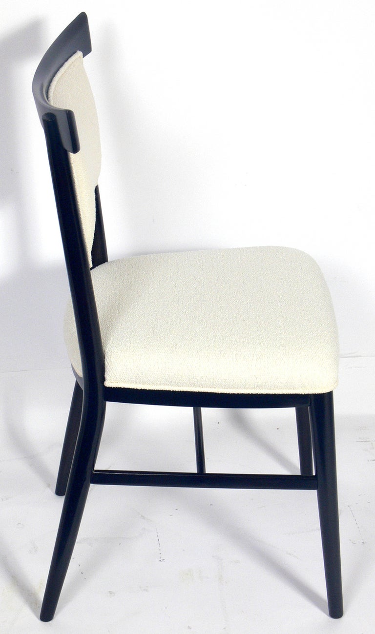 Mid-Century Modern Set of Six Dining Chairs Designed by Paul McCobb For Sale