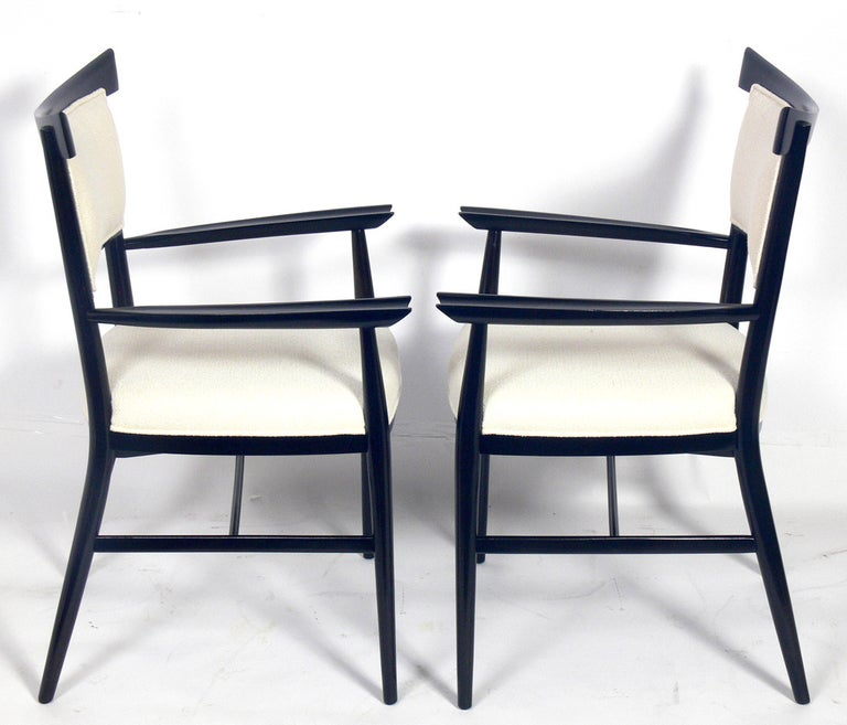 Set of Six Dining Chairs Designed by Paul McCobb In Good Condition For Sale In Atlanta, GA
