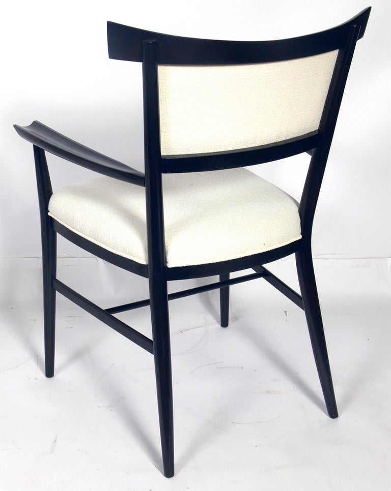 Mid-20th Century Set of Six Dining Chairs Designed by Paul McCobb For Sale