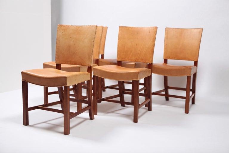 Danish Set of Six Dining Chairs