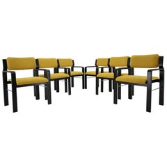 Set of Six Dining / Office Chairs by Ludvik Volak, 1960s