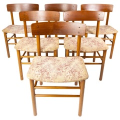 Set of Six Dining Room Chairs of Danish Design from the 1960s