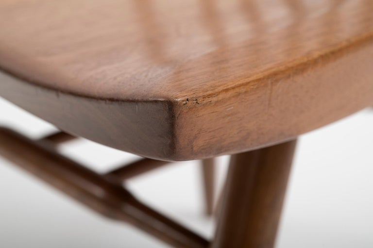 Set of Six Early George Nakashima New Chairs, United States, 1958 For Sale 2