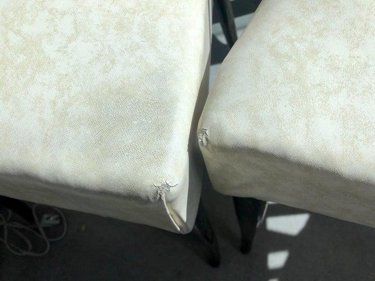 Set of Six Ebonized Wood Dining Chairs 9
