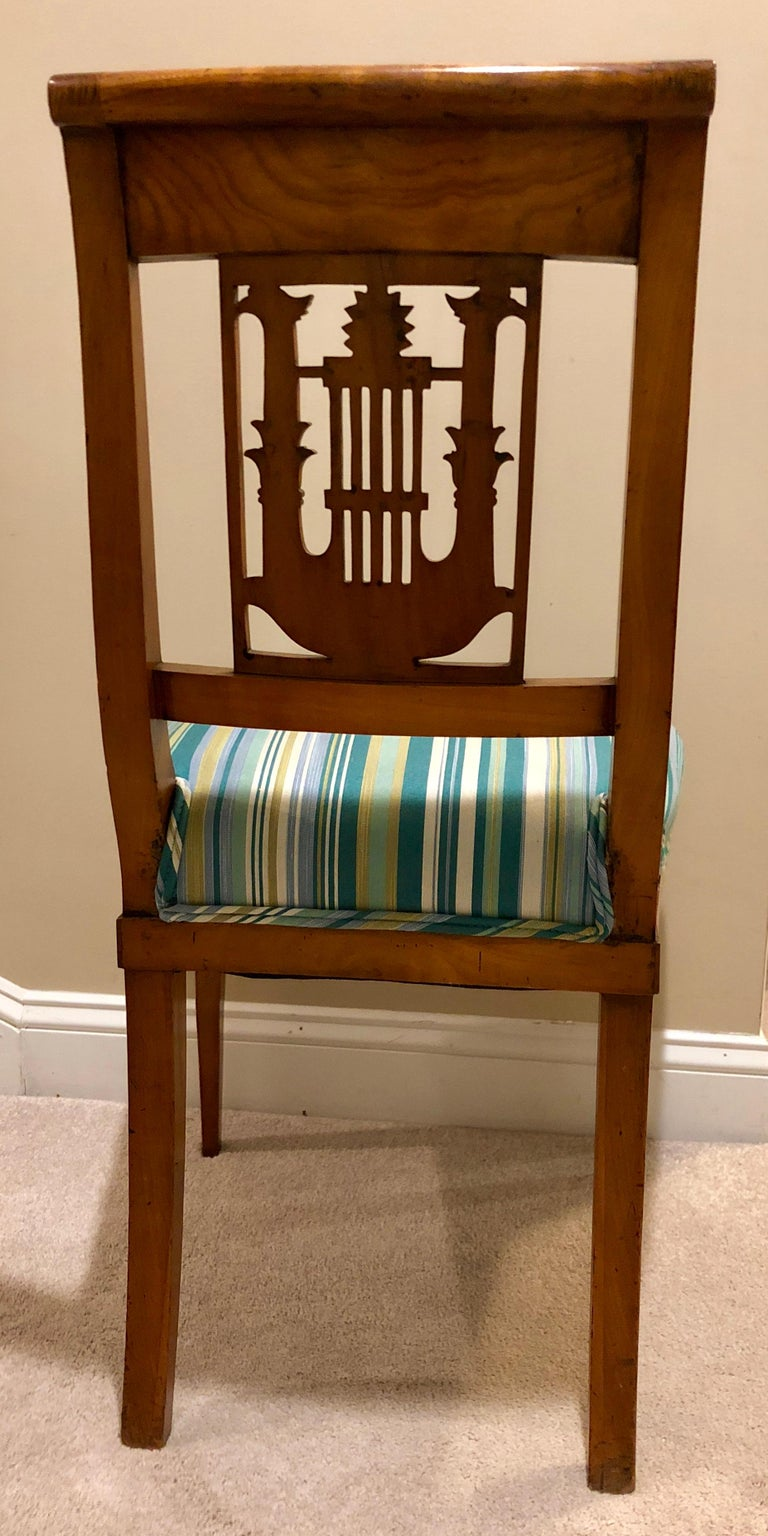 Set of Six Empire Chairs, Germany, 1800-1810 For Sale 1