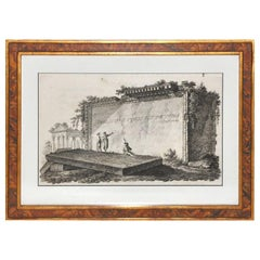 Set of Six Engravings with Ancient Roman Themes