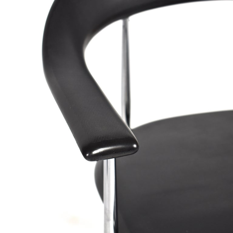 Set of Six FASEM P40 Dining Chairs by Vegni and Gualtierotti - Italy For Sale 3