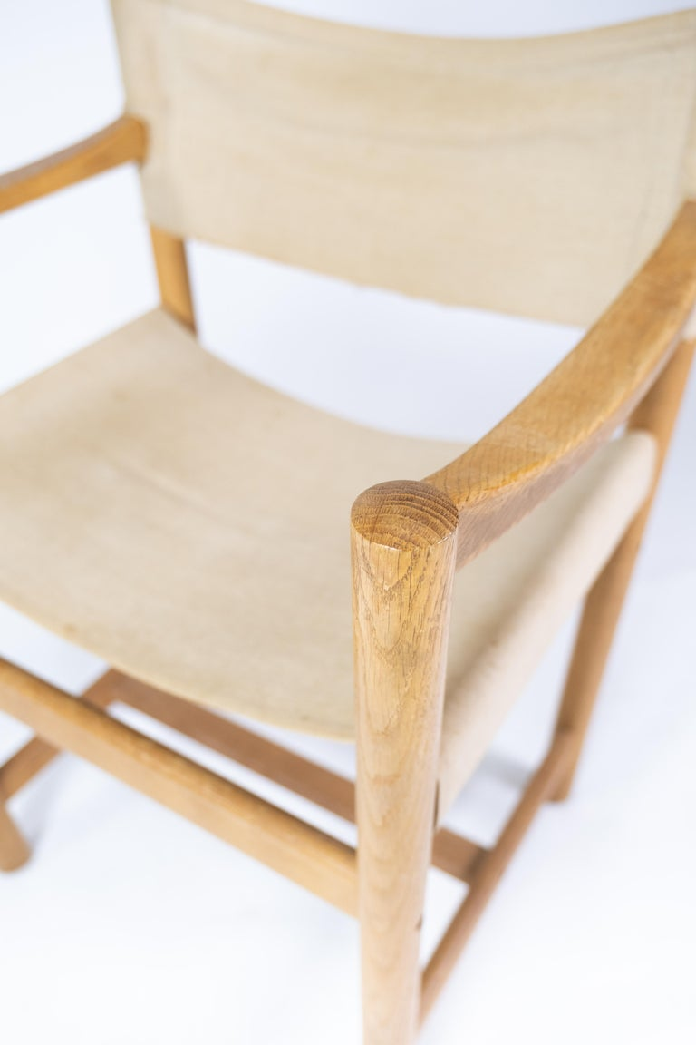 Danish Set of Six Folding Chairs, Model J102, Designed by Ditte & Adrian Heath for FDB For Sale