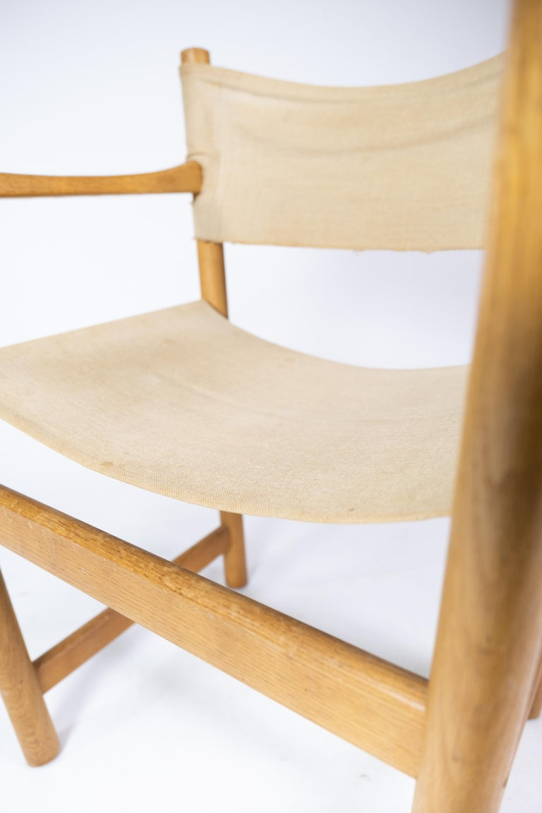 Set of Six Folding Chairs, Model J102, Designed by Ditte & Adrian Heath for FDB In Good Condition For Sale In Lejre, DK