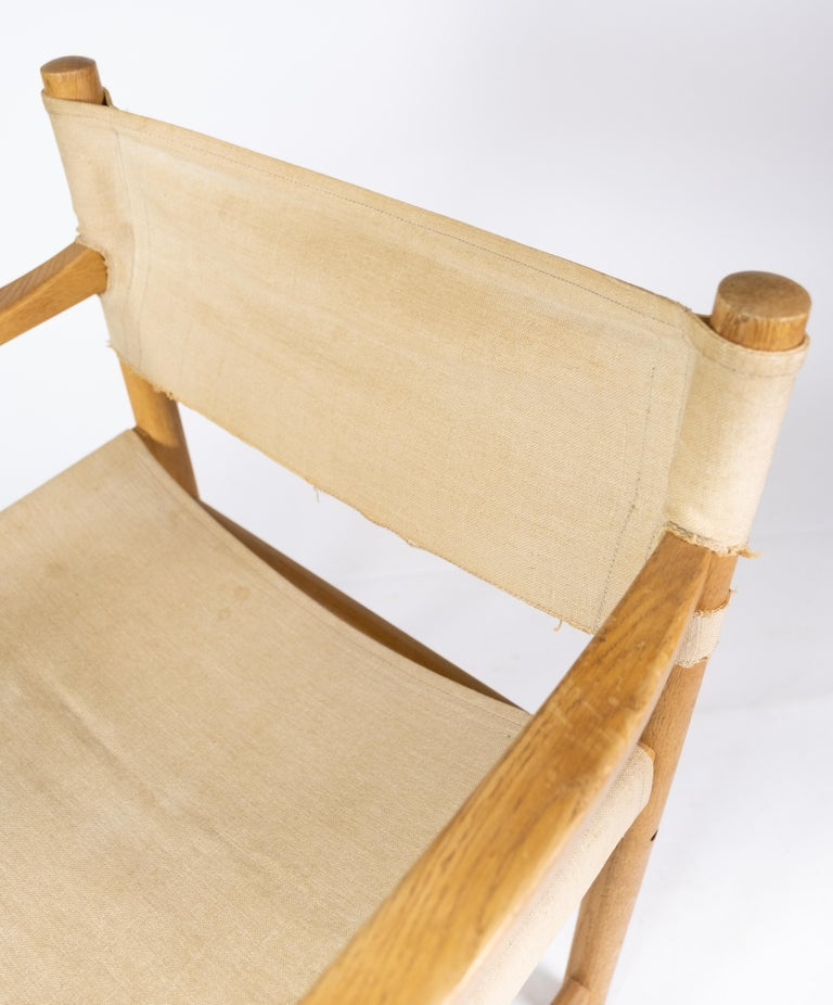 Late 20th Century Set of Six Folding Chairs, Model J102, Designed by Ditte & Adrian Heath for FDB For Sale