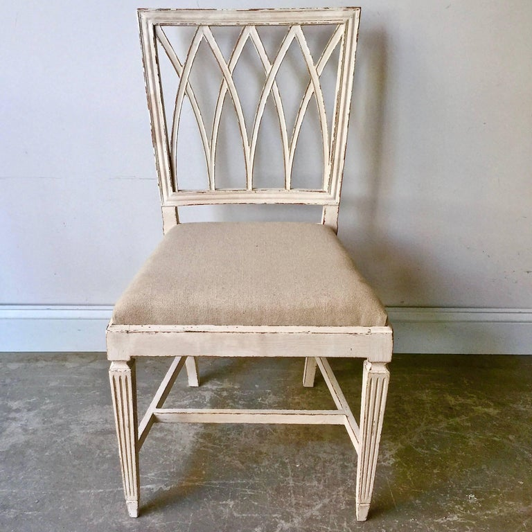Set of Six French 19th Century Side Chairs In Good Condition For Sale In Charleston, SC
