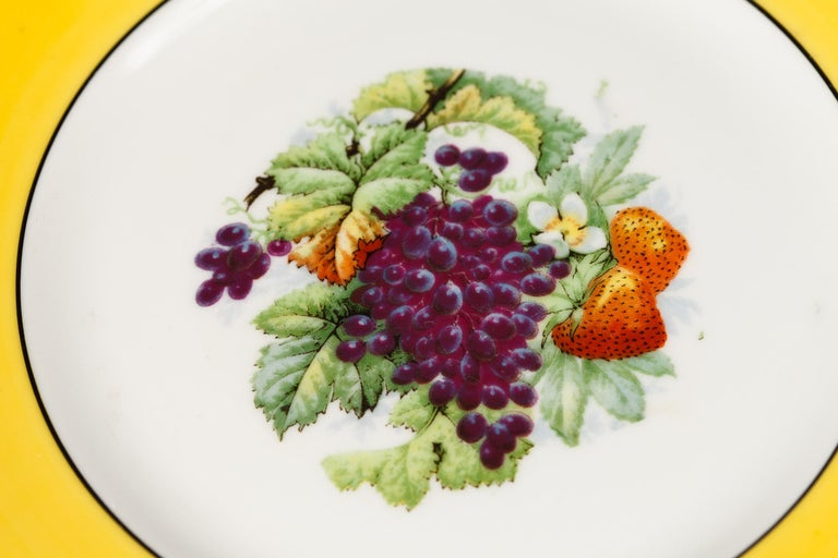 French Ceramic Plates from Mehun Factory, 20th Century For Sale 9