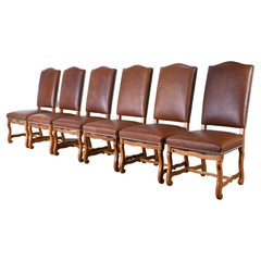 Set of Six French Dining Chairs by Ralph Lauren