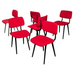 Set of Six Friso Kramer 'Revolt' Dining Chairs